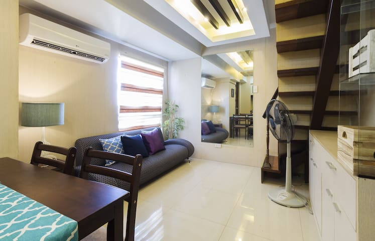 15f Eastside View Loft (up to 5pax) - Taguig - Apartamento