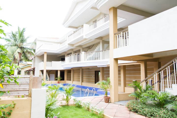 GOAgaga-Near d Beach-Family/Couples - Saligao - Apartament