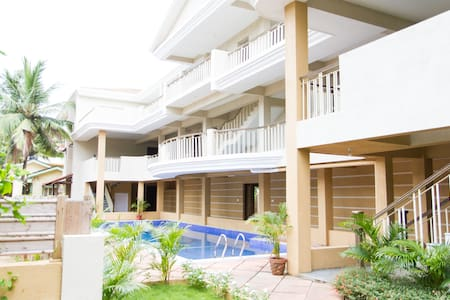 GOAgaga-Near d Beach-Family/Couples - Saligao - Appartement