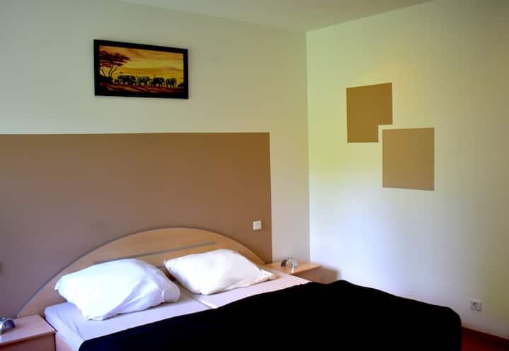 Modernes Apartment für Familien und junge Menschen
