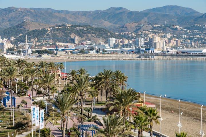 OVER THE SEA next to City Center - Málaga - Apartament