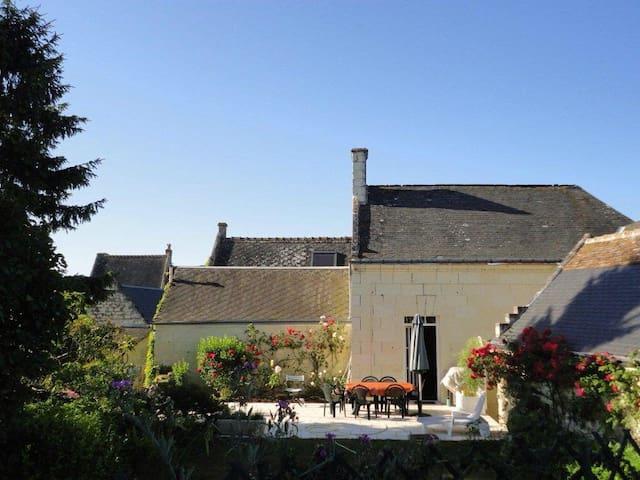 Maison de charme des bords de Loire - Rigny-Ussé - Ev