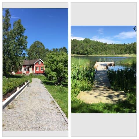 Lake House in the archipelago - Vaxholm - วิลล่า