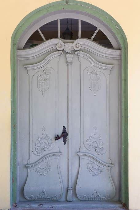 Historical Entrance door (1789)