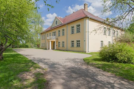 Apartment in a manor 35km from Riga - Mencendarbe - Otros