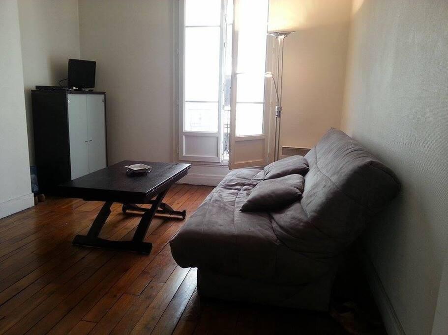 paris 13 appartement 45 m2 quip appartements louer paris le de france france. Black Bedroom Furniture Sets. Home Design Ideas