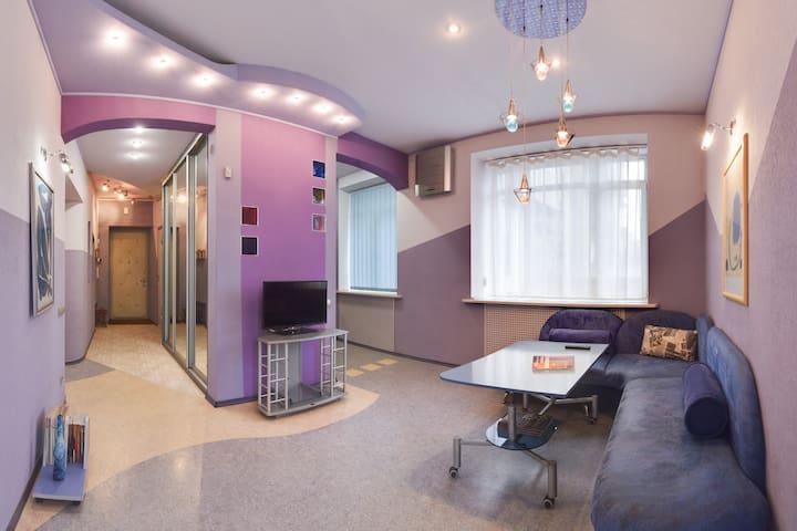 Апартаменты 3х ком на Пушкинской 54 - Kharkiv - Huoneisto