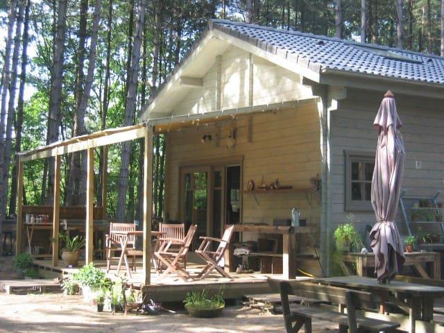 Chalet Het Wiel in een natuurgebied - Nijlen - Lomamökki