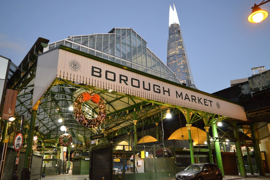 The most famous fruit and vegetable market. Full of luxury right here on your doorstep...must visit...it's stunning.