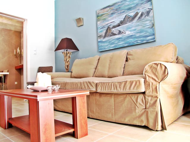 54m2, 1-br, cable tv, wi-fi, metro - Ateny - Apartament