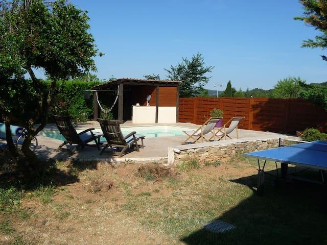 Villa avec piscine Aix-en-Provence - Châteauneuf-le-Rouge - Casa