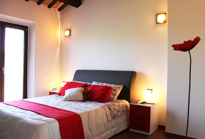 Suite Rouge - B&b Ulivi di Mascio