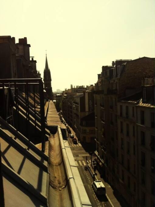 vue des balcons