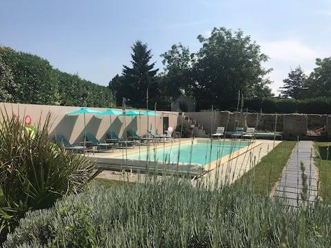 Belle demeure avec piscine - Perche Sarthois