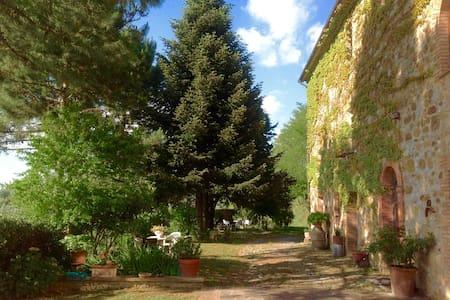 Stone villa XIXCentury super view - Ficulle