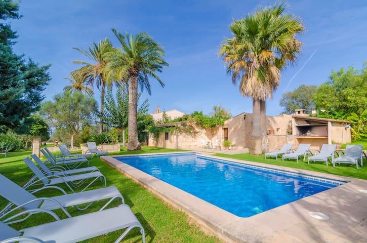 AGROTURISMO ES PLA DE LLODRA (SA VAQUERA) - Apartment with shared pool in Manacor.