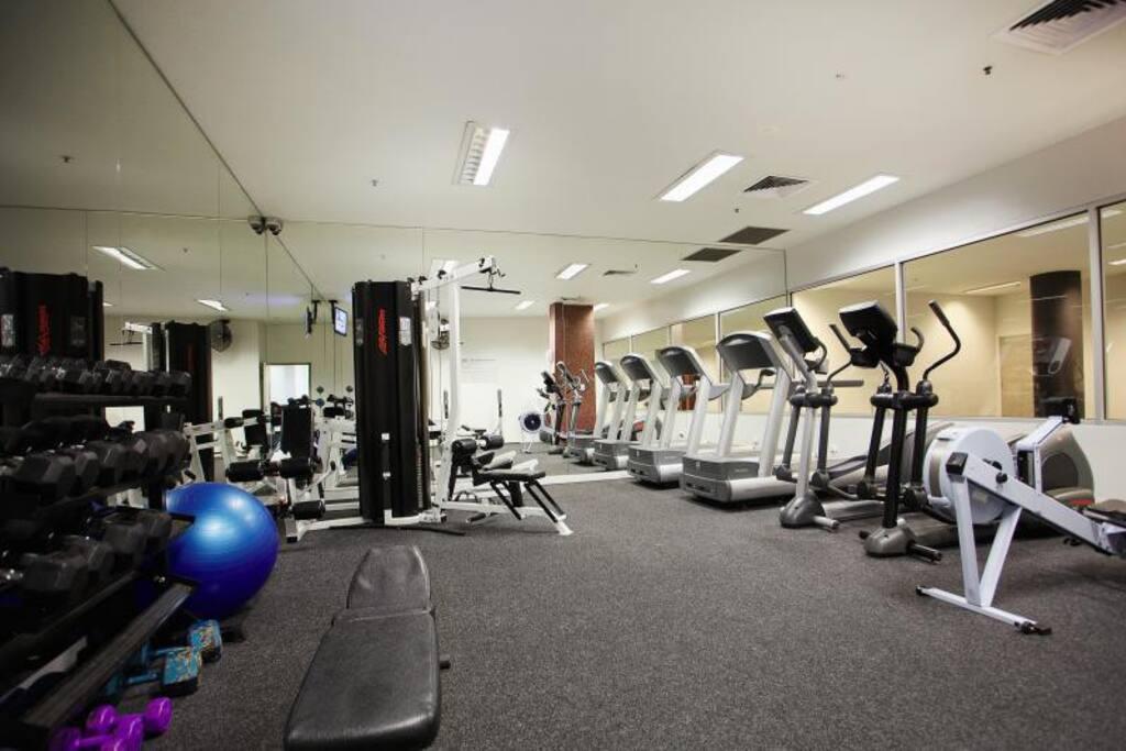 Gym, Pool, Spa & Sauna