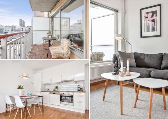 Modern Apt w/Walking Distance From Central Station