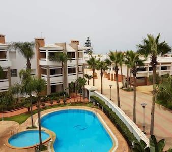 Adorable appartement de vacance á Skhirat Beach - Apartmen