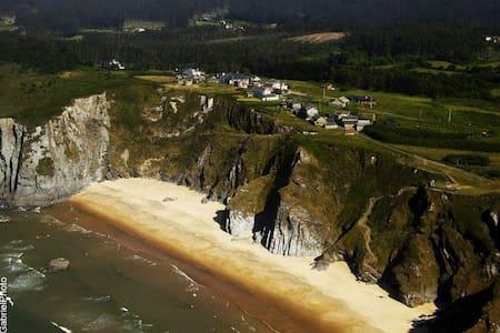 Loiba:House nature,beach and cliffs - La Coruña - Дом