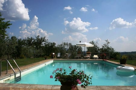 Casale Elisa countryhouse with pool - Muciafora - Rumah