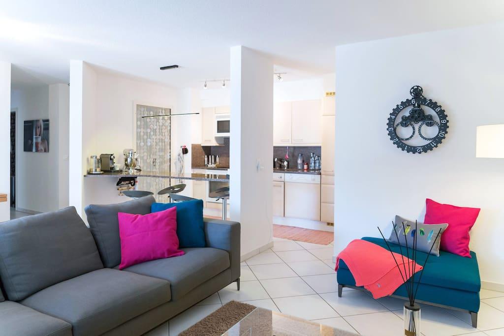 Beautiful modern apart w/terrace