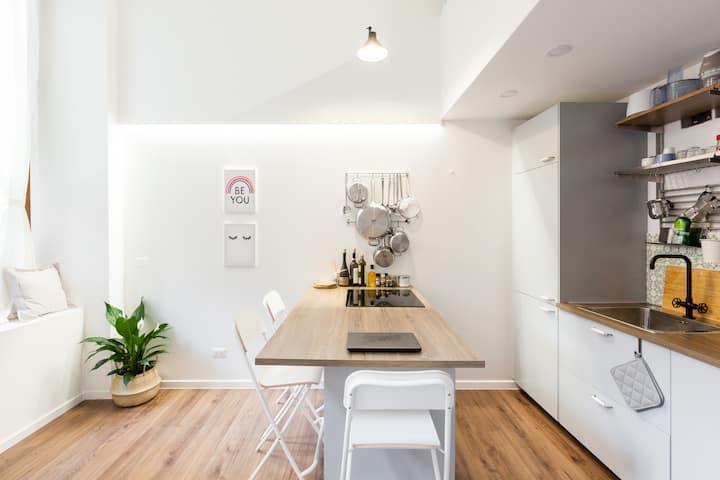 Cozy Loft - Fondazione Prada - 300mt Yellow Line