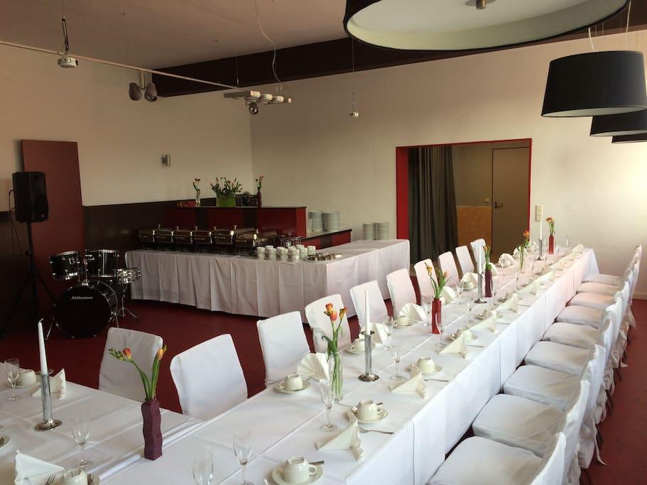 Raum für private Feiern und Veranstaltungen.