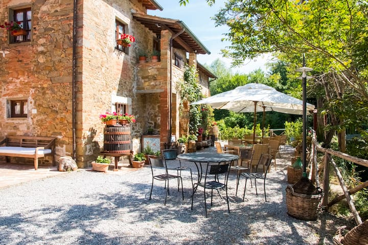 Casa Viola Tuscan Farmhouse wifi - Bucine (AR) - Appartement