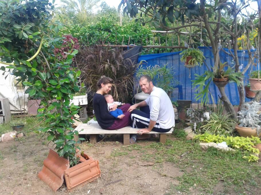 Friends in the Garden