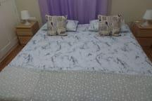 Cozy room in the center of Málaga.