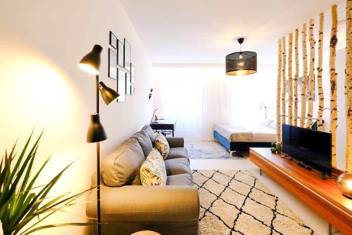 Modernes Appartement mit gratis Netflix in Gmunden