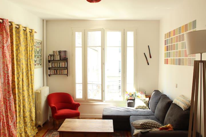 Appartement familial quartier sympa