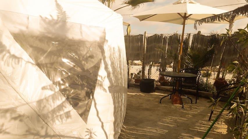 domo glamping 7 ,playa loreto