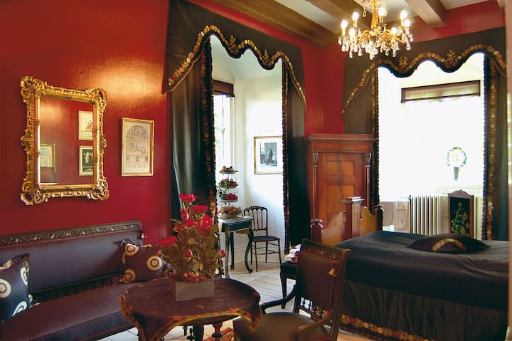 The Anders Suite at Broholm Castle