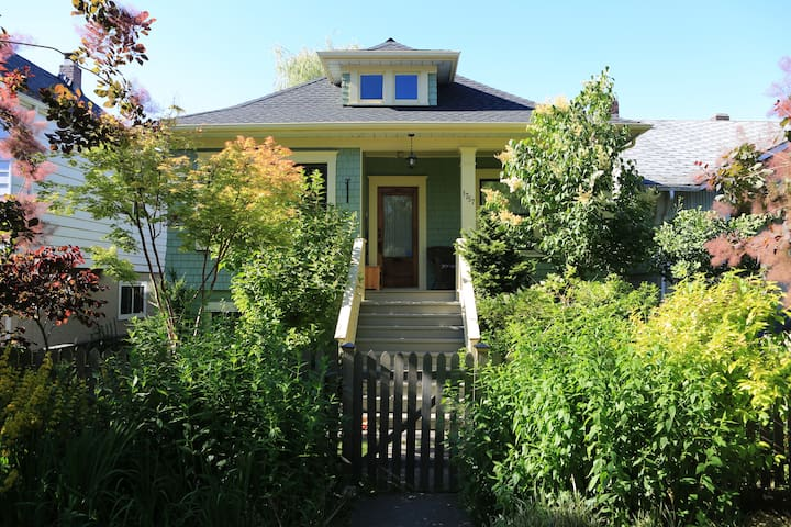 Heritage house by Commercial Drive
