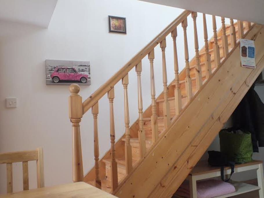 Stairs to Double Bedroom
