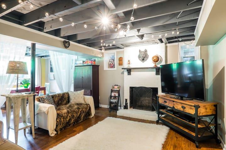 Cozy Haven in East Nashville - Nashville - Lejlighed