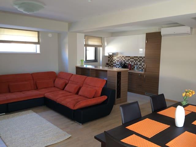 Солнечная квартира с видом на море - Saulkrasti - Apartamento