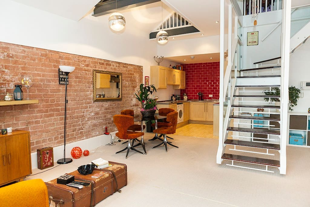New york style loft with parking permit appartamenti in for Loft in affitto new york