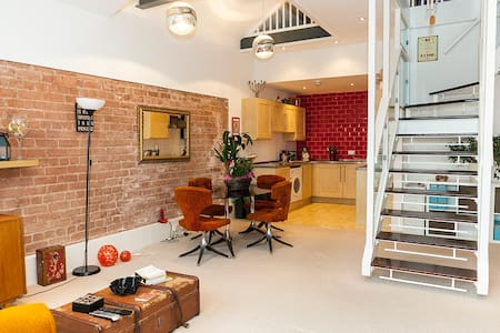 NY style loft 1 Bed Apartment. - Cardiff - Wohnung