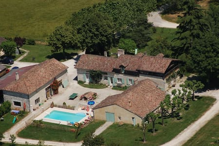 Gîte 5 étoiles piscine vignoble