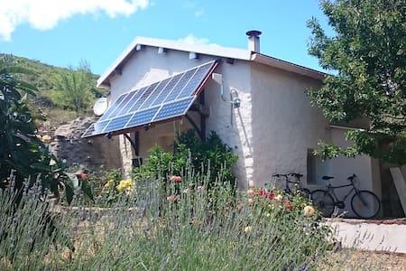 Off-the-Grid house in the hills - Saint-Nazaire-de-Ladarez - House