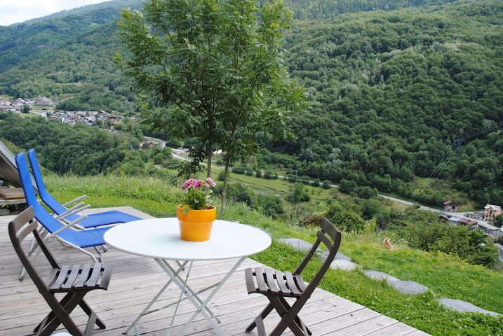 Appartement en pleine nature avec superbe vue