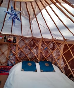 Heated Yurt & Wagon Kitchen - Wolfville - Iurta
