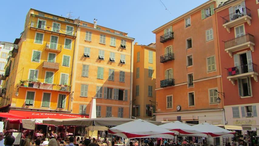 Beau 2 pièces dans le vieux Nice