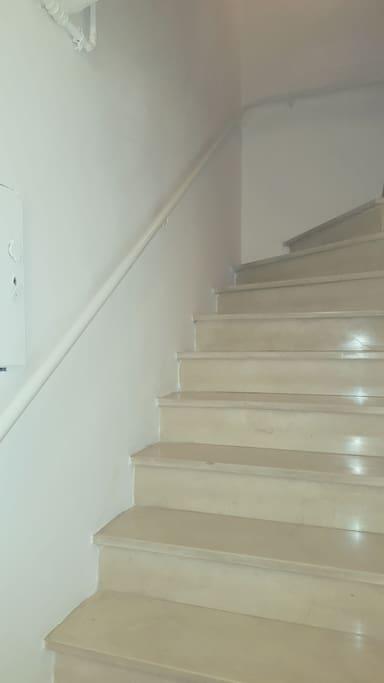 Rampa scale accesso appartamento