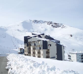 appart au pied des pistes,6 places - Saint-Lary-Soulan - Apartment