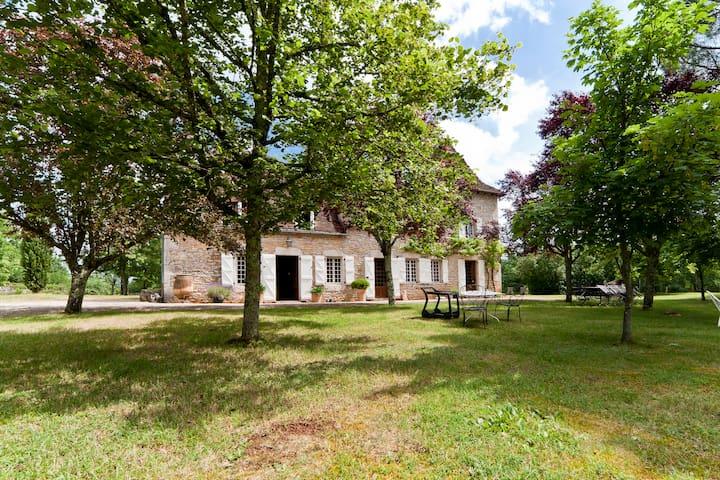 Maison dans le lot avec piscine - Espédaillac - Ev