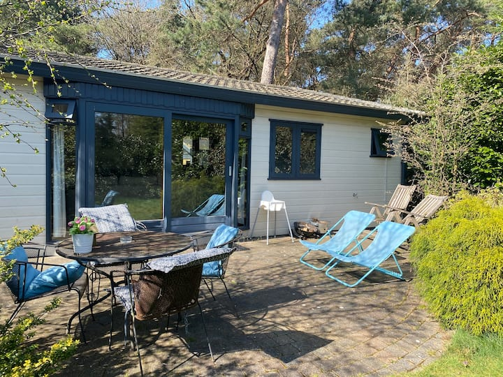 Chalet op de Veluwe. 4pers/ BBQ/ Forest / Pool